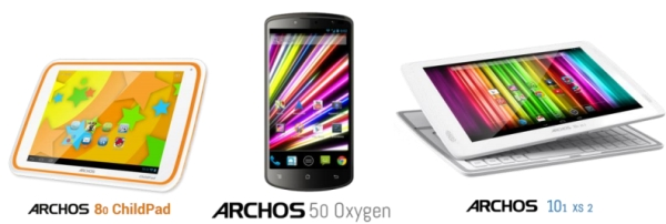 Archos phones and tablets
