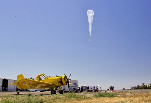 Project Loon in California