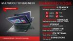Lenovo ThinkPad Yoga is a flexible Windows 8 convertible for business