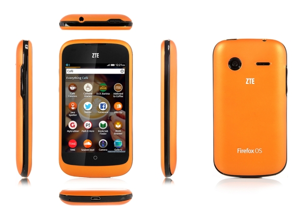 ZTE Open Firefox OS phone is available again for $80