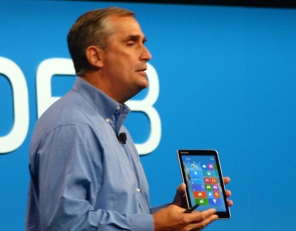 Lenovo Miix 8 tablet at IDF 2013 (via UMPC Portal)