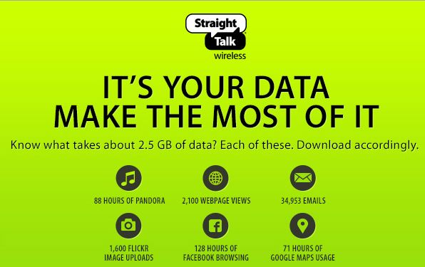 straight talk data