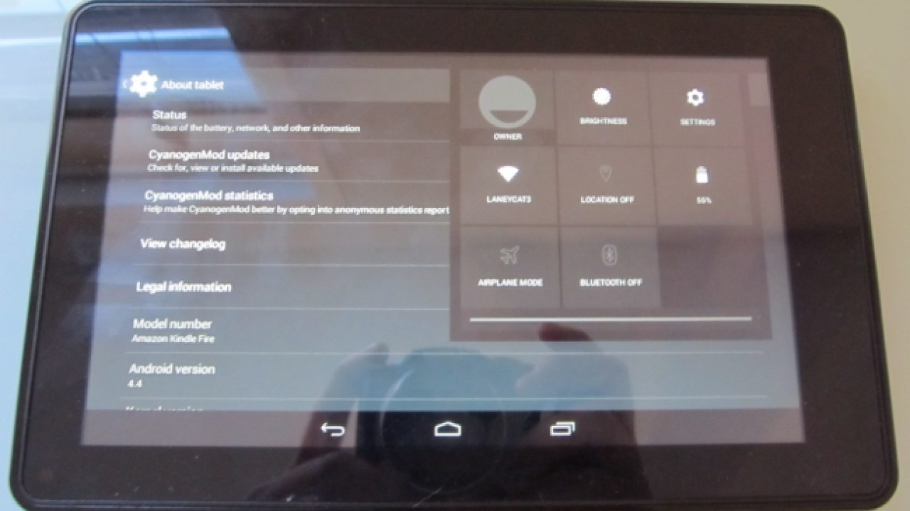 Original Kindle Fire gets an (unofficial) Android 4 4 KitKat