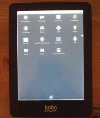 Kobo Glo with Google Android