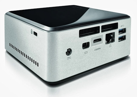 Intel NUC with 2.5 inch drive bay