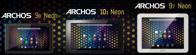 Archos Neon tablets