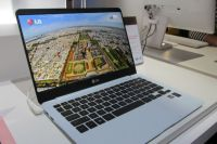 Hands-on with the LG Ultra PC (13 inch notebook weighs 2.2 pounds)