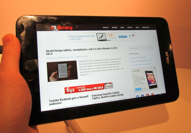 Hands-on with the Asus VivoTab Note 8 Windows tablet