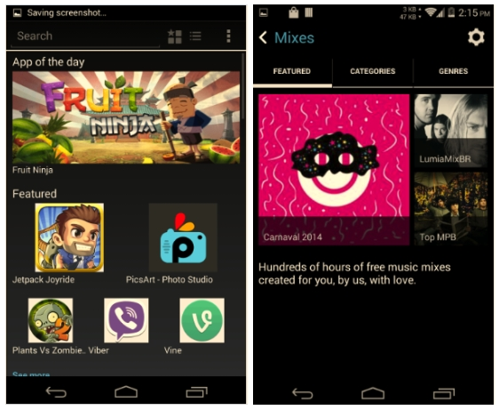 Nokia X apps for Android