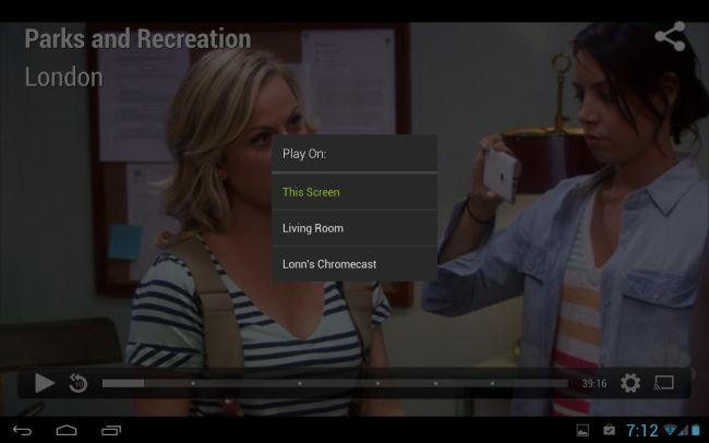 Hulu Chromecast