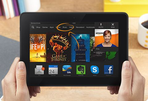 kindle fire hdx mayday