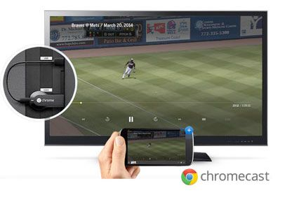 mlb chromecast