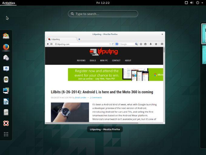ubuntu 14.10 gnome