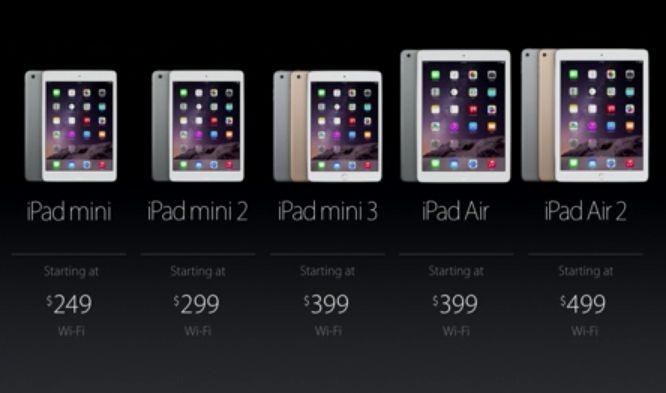 ipad mini 3 prices
