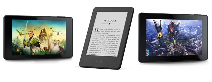 kindles and fires