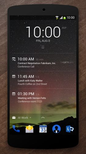 Microsoft launches Android apps including lock screen, OK Google