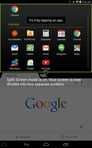acer split screen