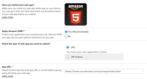 amazon fire tv web apps