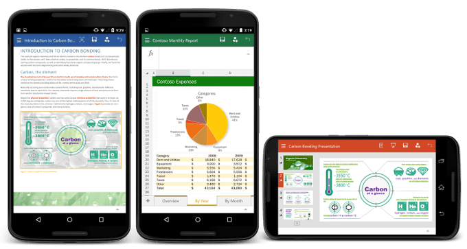 office android phone preview