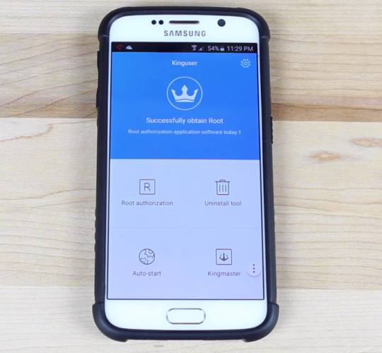 samsung galaxy s6 rooted