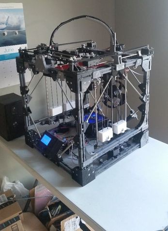 3-D printer made from 3-D printer