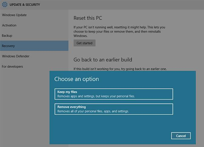 how to do win 10 clean install