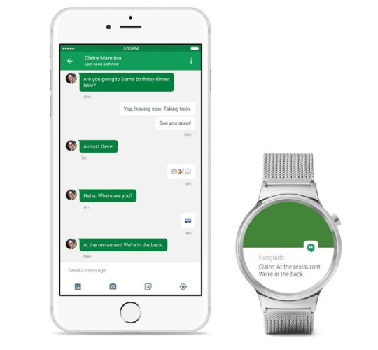 android wear with ios