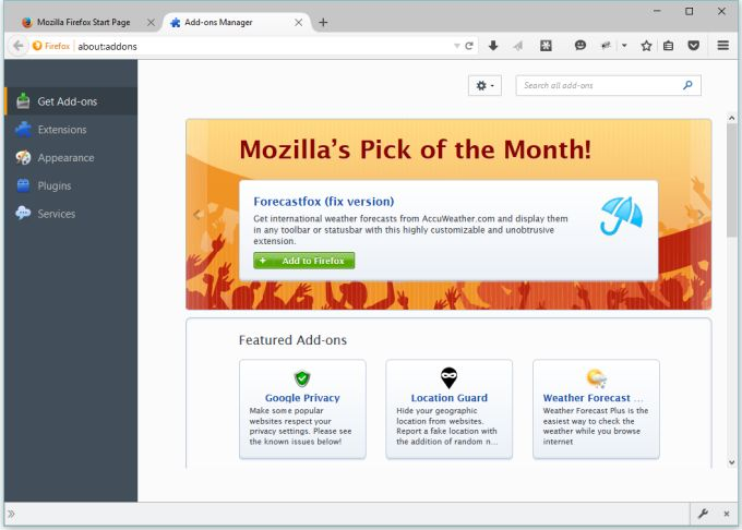 Firefox 42 won't support unsigned extensions - Liliputing