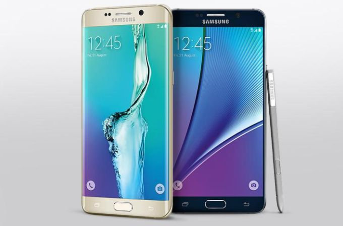 samsung note 5 and edge 6 plus