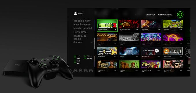Razer's Cortex game store for the Forge TV rises from Ouya's ashes