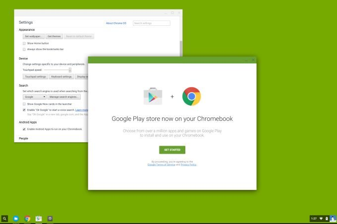 Google Play Store may be coming to Chrome OS, with a million Android