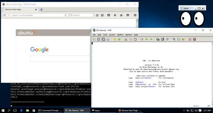 ubuntu on windows