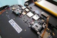 GPD Win handheld gaming PC partial teardown
