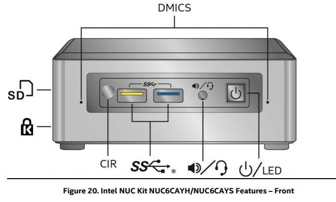 Intel releases specs for upcoming Apollo Lake NUC mini computer