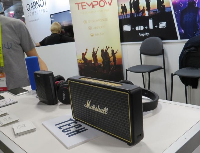 Tempow streams smartphone audio to multiple Bluetooth