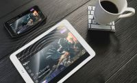 Superscreen is a wireless, touchscreen display for smartphones (crowdfunding)