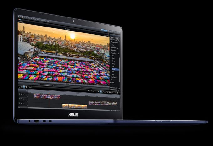 Asus Zenbook Pro UX550 packs a lot of power into a 4 pound notebook