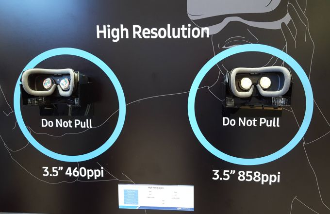Samsung Unveils 858 Ppi Display For Virtual Reality