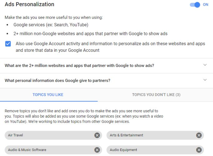 Google to stop scanning Gmail for ad personalization