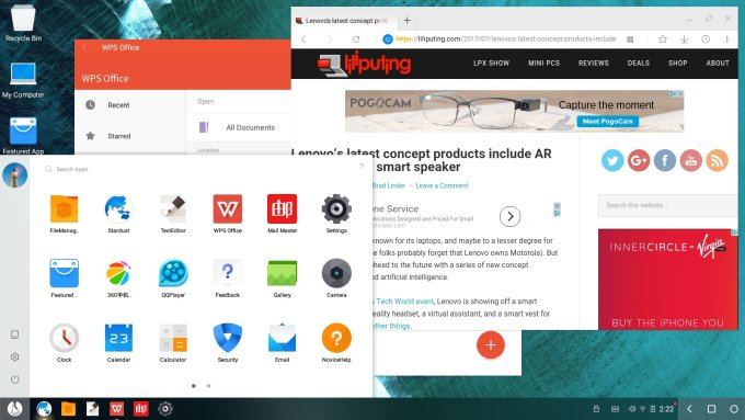 As Remix OS fades away, Phoenix OS keeps Android-as-desktop OS alive with v2.1.0 release