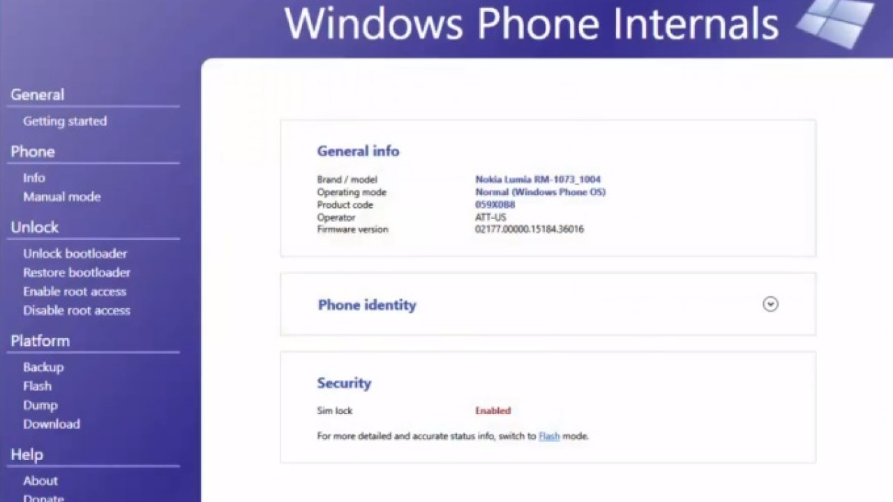 Windows Phone Internals 2 2 can unlock all Lumia phones