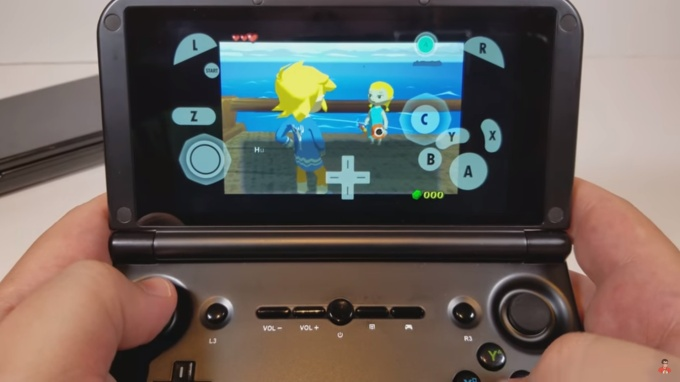 GPD XD+ handheld game console with 4GB RAM, MTK8176 coming