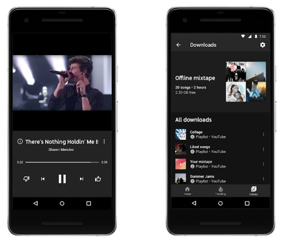 Google (re)introduces YouTube Music and rebrands YouTube Red
