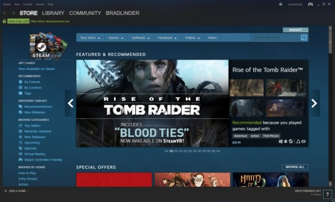 Steam to end support for Windows XP and Vista - Liliputing
