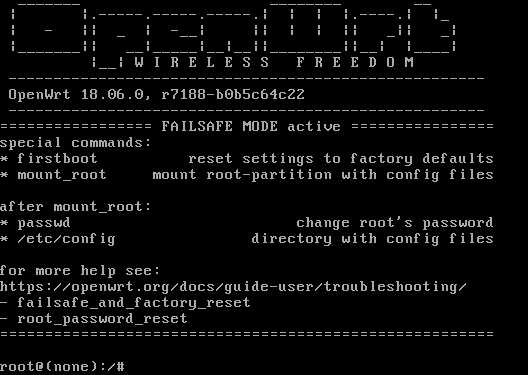 OpenWrt 18 06 released (Linux OS for your router, first