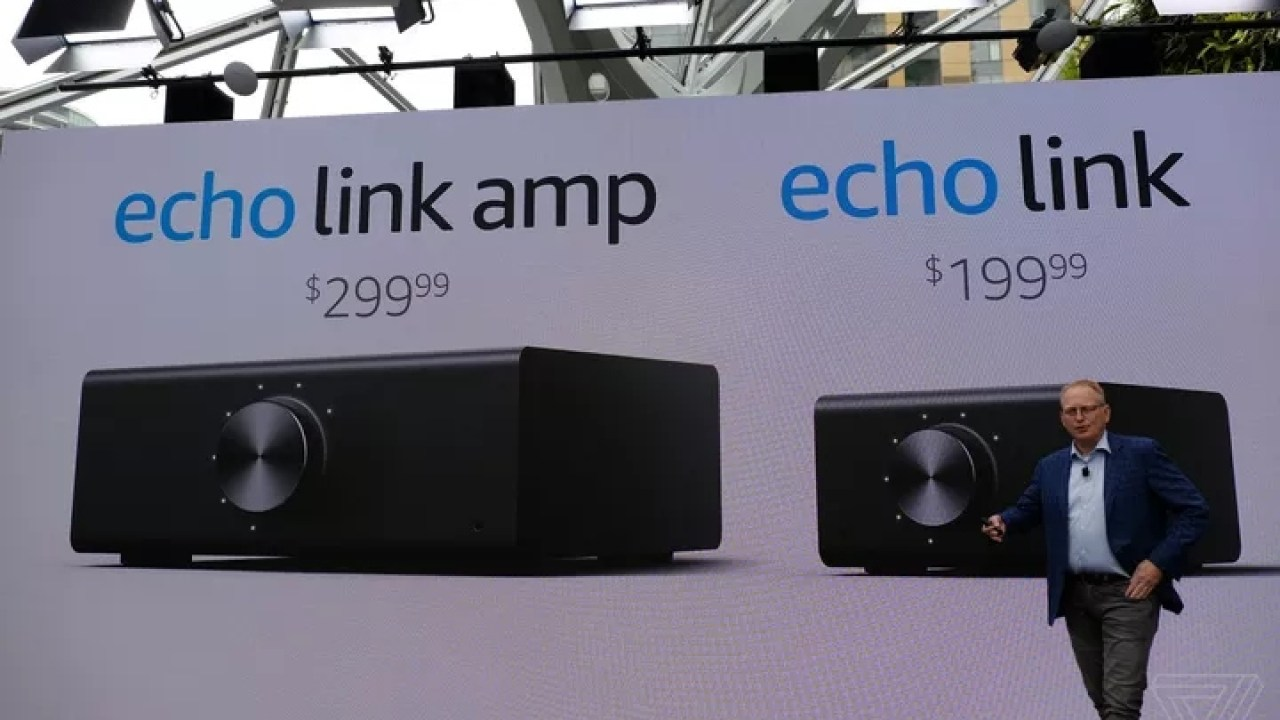 Amazon launches Echo Sub, Echo Link, and Echo Link Amp