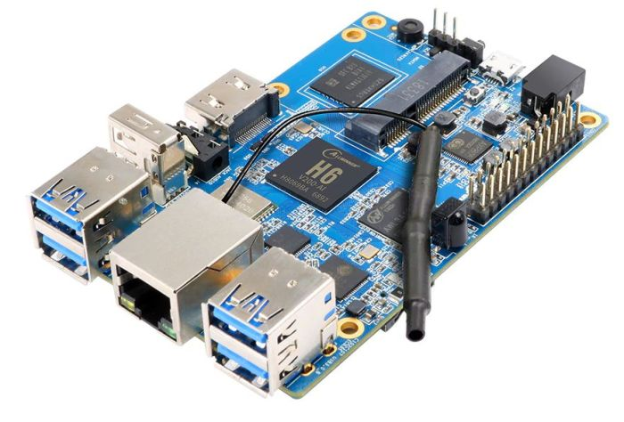 Orange Pi 3 single-board computer sells for $30 and up