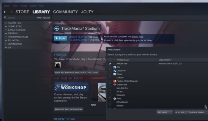 Steam Play for Linux update supports more games (including