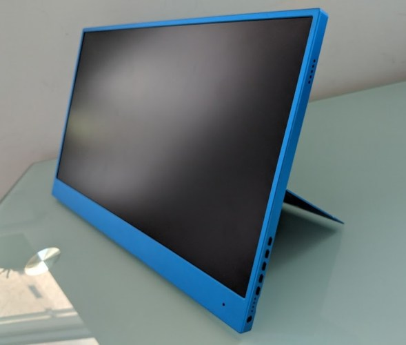 Taihe Gemini portable 1080p touchscreen monitor preview - Liliputing