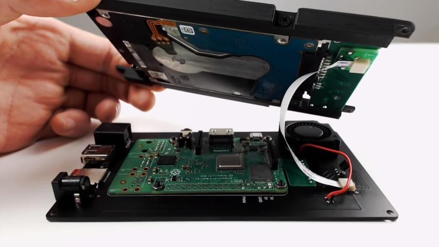 NODE Mini Server V2 is a DIY Raspberry Pi-based server